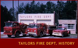 Taylors Fire Department History
